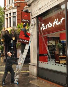 Pasta Hut, Image for DailyMail