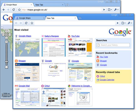 Google Chrome Source:Google.com